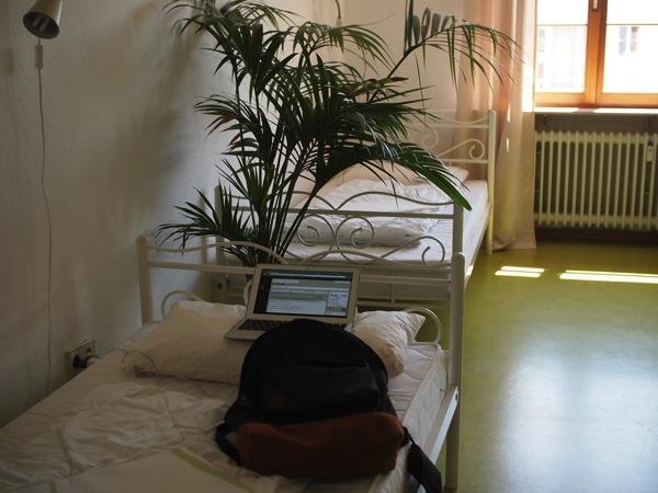 男女で相部屋がドイツの基本?ハイデルベルクで激安ドミトリー泊まってみた!